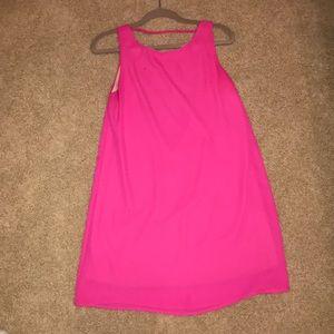 Dresses & Skirts - Hot pink sleeveless dress